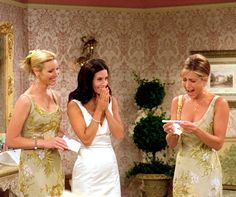 """Friends - Rachel; """"I'm going to have a baby!"""""""