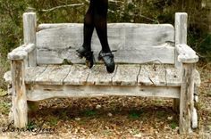 nice bench, and then you notice the feet :)