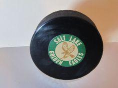 salt lake golden eagles trading cards | CHL Salt Lake Golden Eagles Puck by Converse | eBay