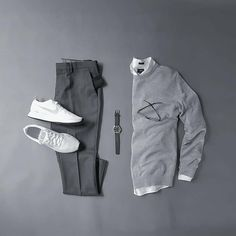 Sweater grids for men. Sweater outfits for men