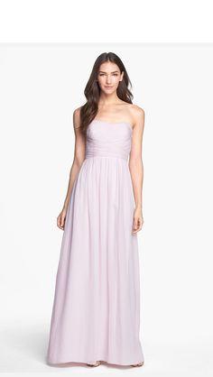 Light purple bridesmaid deess