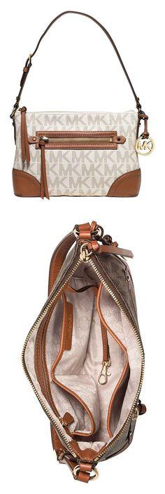 99f969885131e9 Michael Kors Fallon MEDIUM Shoulder Bag VANILLA #michaelkors Shoulder Bags,  Vanilla, Michael Kors