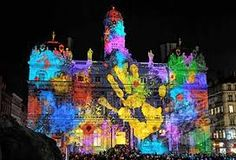 Magnificent festival of lights in Lyon