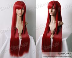 Fairy Tail Cosplay Erza Scarlet Wig