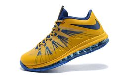 Air Max Lebron 10 Low Yellow blue!$75.40USD