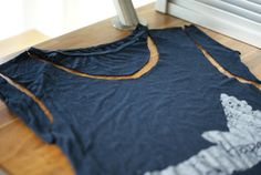 GREAT IDEA FOR WHAT TO DO WITH OLD T-SHIRTS