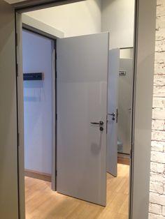 Grey modern door