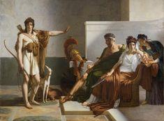 Pierre-Narcisse Guerin (Paris 1774-1833 Rome), Phaedra and Hippolytus, 1802/1815, Musee des Beaux-Arts, Bordeaux