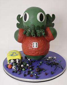 Cthulhu Cake | Charm City Cakes
