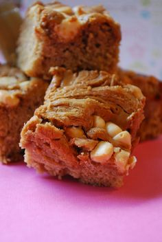 Gingerbread Cookie Butter Blondies