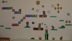 Hama Beads - Mario level II by acidezabs on DeviantArt Pony Bead Patterns, Pearler Bead Patterns, Perler Patterns, Pearler Beads, Fuse Beads, Beading Patterns, Hama Beads Mario, Yoshi, Mario Crafts