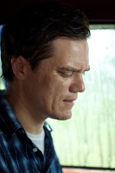 "Michael Shannon in ""Take Shelter"" Plagued by a series of apocalyptic visions, a young husband and father questions whether to shelter his family from a coming storm, or from himself. Jeff Nichols, Michael Shannon, Take Shelter, Book Tv, Martin Freeman, Good People, Good Movies, Documentaries, Cinema"