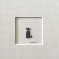 Cuadro de arte mini piedra sin marco por sharon por PebbleArt