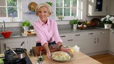 Mary shows us how to make a delicously rich pasta dish.