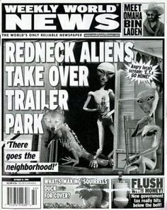 Gotta love Weekly World News!