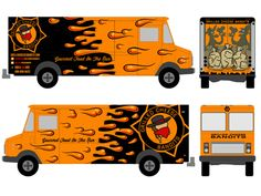Free food truck wrap template studiofluid food truck for Food truck design software