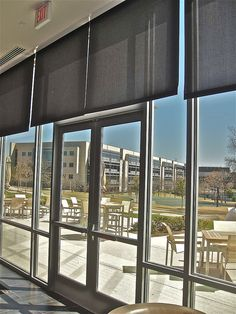 Fabricated mechoshades by windowswest the magic of for Motorized sliding door blinds