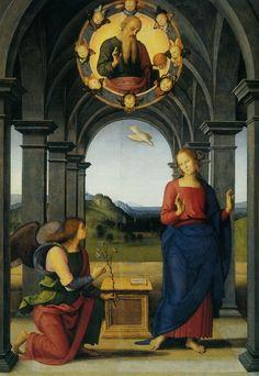 Madonna, 15th Century, Angel, Fan, Artwork, Painting, Santa Maria, Messages, Virgin Mary