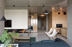 Un penthouse modulable | MilK decoration