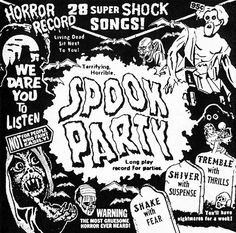 Spook Party CD Front (Scar Stuff, 2000)