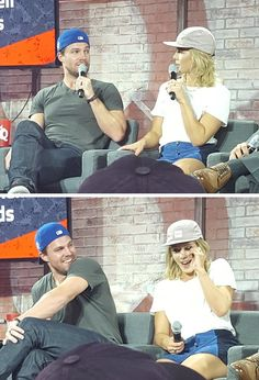 Stephen & Emily at #NerdHQ panel #sdcc2016