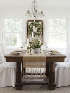 Oregon farmhouse dining