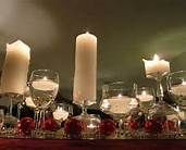 wine glass candle holder upside down - Bing Images