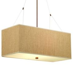 Alexis Rectangular Suspension by Forecast Lighting