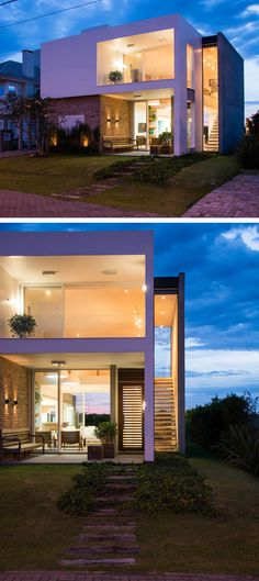 ESTUDIO 30 51 have designed Casa Ventura M22, a residence for a family in Rio Grande do Sul, Brazil.
