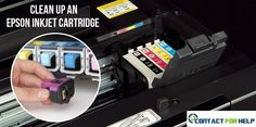 Clean Up an Epson Inkjet Cartridge with These Easy Steps
