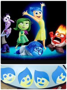"""This month we have been learning all about our emotions! What better way to learn about our emotions than through the fantastic Disney movie """"Inside Out!"""" Our favourite character was de…"""