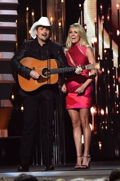 Pin for Later: All the CMA Awards Moments You May Have Missed Brad Paisley and Carrie Underwood