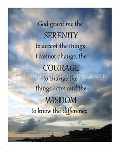 Serenity Prayer Poster Print x Faith Quotes, Bible Quotes, Bible Verses, Strength Quotes, True Quotes, Scriptures, Funny Quotes, People Quotes, Keep The Faith