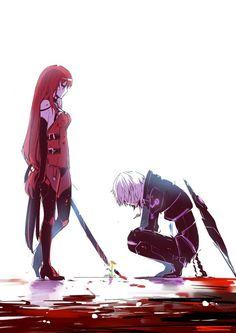 Elesis and Add - Crimson Avenger and Diabolic Esper
