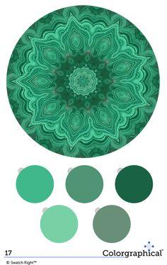 Malachite greens are