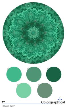 Malachite greens are hot right now.  Color Inspiration 17. Pittsburgh #paint #colors with HEX codes.
