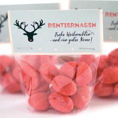 Jippie! Kaum sind die ersten Lebkuchen in den Shops, kommt bei uns Weihnachtsvorfreude auf. Wir haben DIE süße, kleine Geschenkidee für euch. - Rentiernasen in der Tüte! ♥︎ Link im Profil! #Weihnachten #WeihnachtsvoJippie! Kaum sind die ersten Lebkuchen i