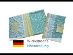 """Wickeltasche, Tasche für Windeln selber nähen, """"LULU""""  - für Nähanfänger..."""