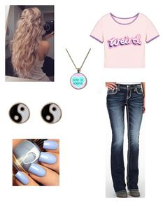 Untitled #83 by sei84 on Polyvore featuring polyvore, beauty, Accessorize and Rock Revival
