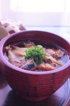 姫タケノコと鯖の味噌煮缶のお味噌汁 by junjunさん | レシピブログ ...
