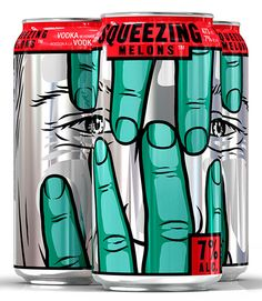 Squeezing Melons / Jaw Drop coolers (Canada)