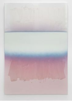 "Nathan Hylden (b. 1978) ""Untitled"", 2011. Acrylic and polyurethane on canvas, 170.18 x 119.38 cm"