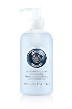 The Body Shop Blueberry Body Lotion