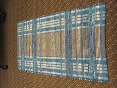 A rep weave warp sett gives you so many possibilities
