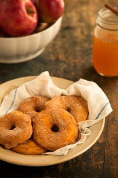 Apple Beignets featured on @LaylaGrayce blog #laylagrayce #blog #recipes