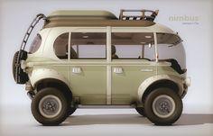 Nimbus™ Concept e-Car - Future is calling - ©2014 Eduardo Galvani