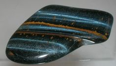 """Blue tigers eye is the """"highest"""", resonating with the 3rd eye. It strengthens all visual endeavours, gross and subtle, as well as the development of intuition and divination abilities."""