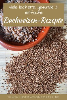 Here you will find many delicious, also Russian buckwheat recipes that are gluten-free and good for your health. Buckwheat can e. prepare hearty main dishes in the pan and sweet dessert. You can make delicious pancakes from buckwheat flour. Buckwheat Recipes, Cooking Buckwheat, Brownie Sans Gluten, Borscht Soup, Seafood Bisque, Paleo Meal Plan, Tasty Pancakes, Dieta Paleo, Oatmeal