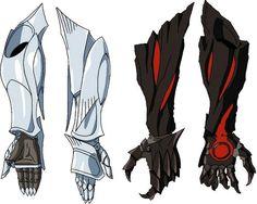 Avarice and Generosity Fantasy Character Design, Character Creation, Character Design Inspiration, Character Art, Robot Concept Art, Armor Concept, Weapon Concept Art, Fantasy Armor, Fantasy Weapons