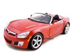 2008 Saturn Sky Diecast Car 1/24 Red Die Cast Car By Maisto Saturn Sky, Buick Skylark, Redline, Diecast, Car, Automobile, Autos, Cars